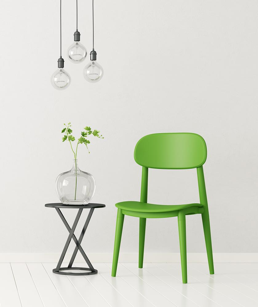 SAMPLE. Ultimate Green chair, XODO