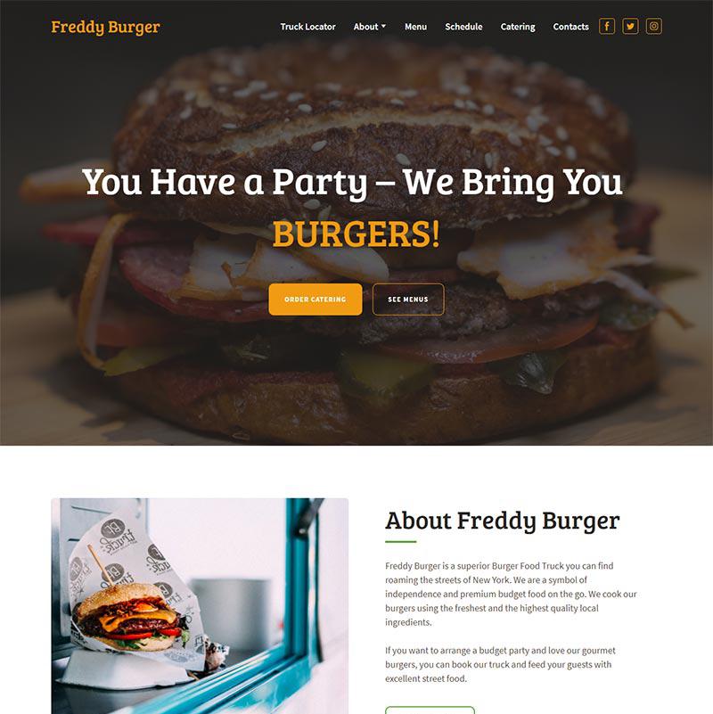 Burgers Food Truck